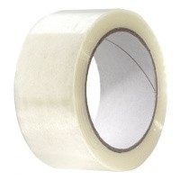 PP Acryl tape transparant Quattro - 50 mm x 60 mtr. (35 my)