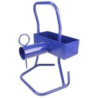 Haspelwagen niet verrijdbaar, blauw polyesterband