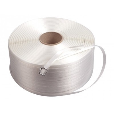 Polyesterband/textielband 13 mm x 1100 m