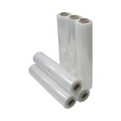 Handrekwikkelfolie transparant type 20 x 50 cm x 300 mtr