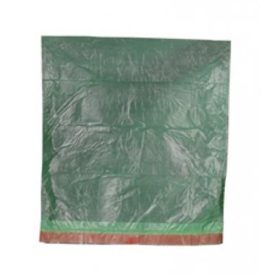 Foto van Afvalzakken HDPE groen - 55 x 60 cm x 18 my