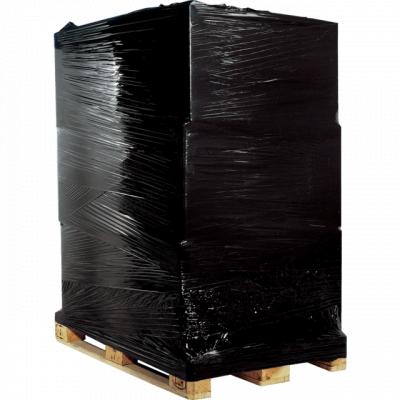 Afbeelding van Handrekwikkelfolie zwart 17 my x 50 cm x 300 mtr