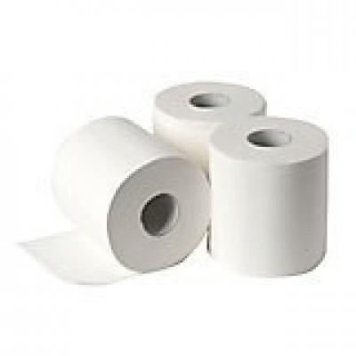 Foto van Industriepapier wit cellulose 2-laags 21 cm x 170 mtr.