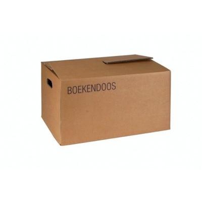 Foto van Boekendoos bruin - 480 x 320 x 250 mm