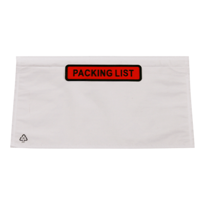 Paklijstenveloppen 113 x 100 mm Packing list A7