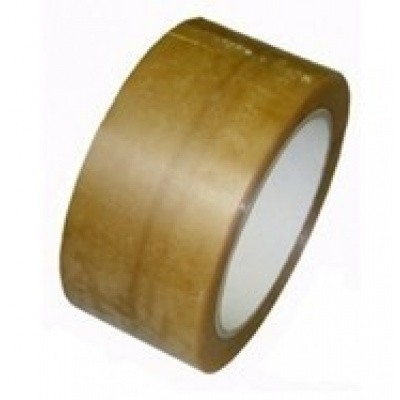 Foto van PP Solvent tape transparant 48 mm x 66 mtr. Low Noise 35 my
