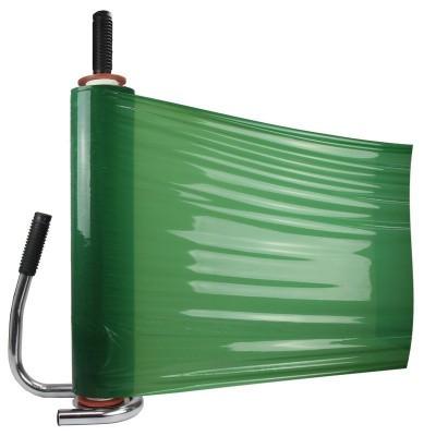 Foto van Handwikkelfolie groen - 50 cm x 270 mtr. x 23 my