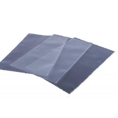 Foto van Vlakke zak LDPE 70 x 90 mm - transparant 60 my met zijlas