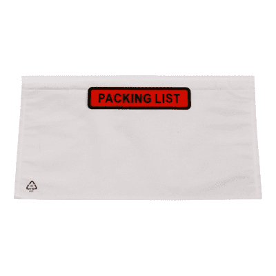 Foto van Paklijstenveloppen 160 x 110 mm - Packing list A6