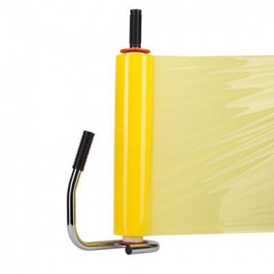 Foto van Handwikkelfolie geel - 50 cm x 300 mtr. x 20 my