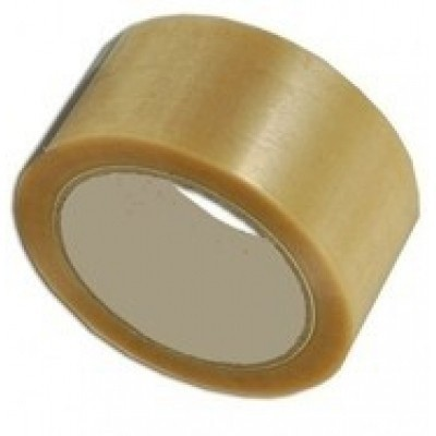 Foto van PP Hotmelt tape transparant - 48 mm x 66 mtr.