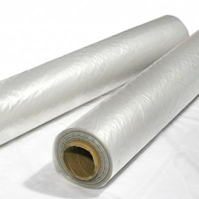 Foto van LDPE folierollen transparant regeneraat folie - 600 cm x 50 mtr. x 150 my