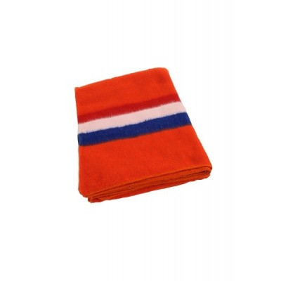 Foto van Verhuisdekens 150 x 200 cm oranje Nederlandse vlag - 1350 gr.