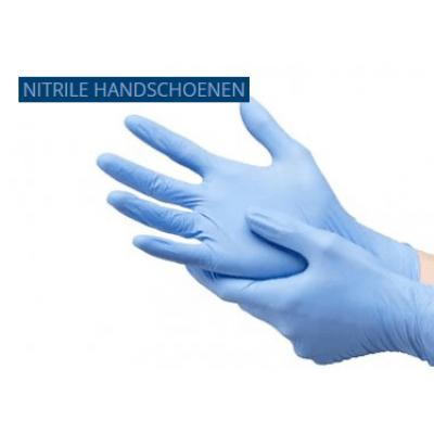 Foto van Nitrile handschoenen