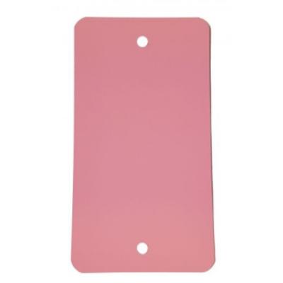 Foto van PVC labels roze - 64 x 118 mm