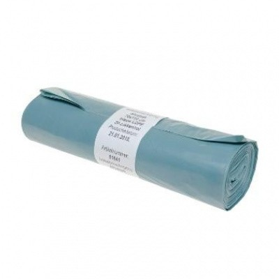 Foto van Afvalzakken LDPE blauw - 70 x 110 cm x 50 my