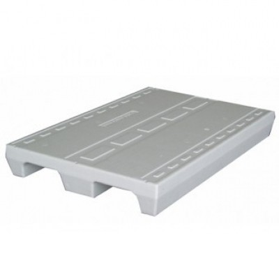 Nieuwe EPS pallet 80x120 cm 2-weg wit