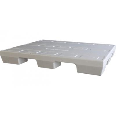 Afbeelding van Gebruikte Airdex pallet 100x120 cm 4-weg wit