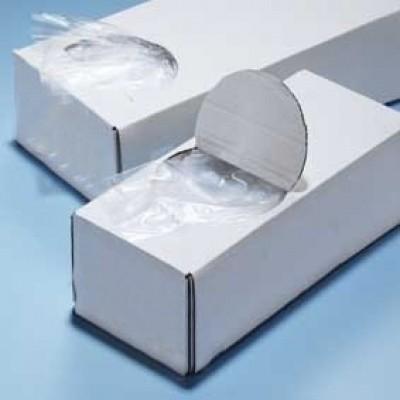 Foto van Plastic zak met zijvouw / LDPE harmonicazakken - 14 x 4 x 32 cm x 20 my