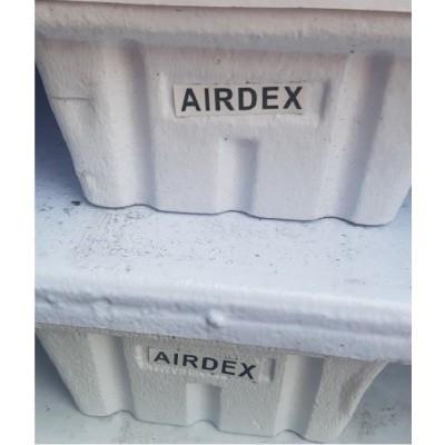 Foto van Gebruikte Airdex pallet 100x120 cm 4-weg wit