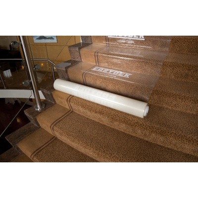 Foto van Easydek Carpet Cover - 60cm x 60mtr., dikte 100
