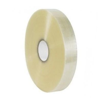 Foto van PP Hotmelt tape 50 mm x 660 mtr. - machinerol transparant