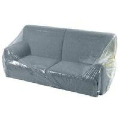 Afbeelding van LDPE meubelhoezen transp. 240 x 130 cm 50 my