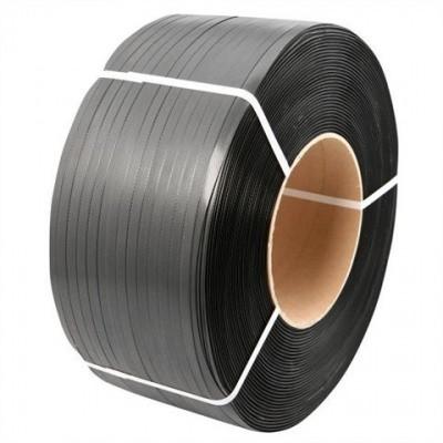 Foto van PP Omsnoeringsband zwart 12 mm x 0,55 mm x 3000 mtr. - kern 206
