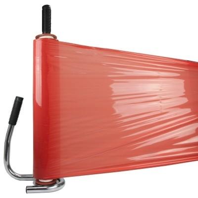 Foto van Handrekwikkelfolie rood 23 my x 50 cm x 270 mtr
