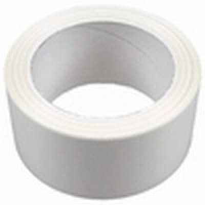 PVC tape wit 50mm x 66mtr. per rol