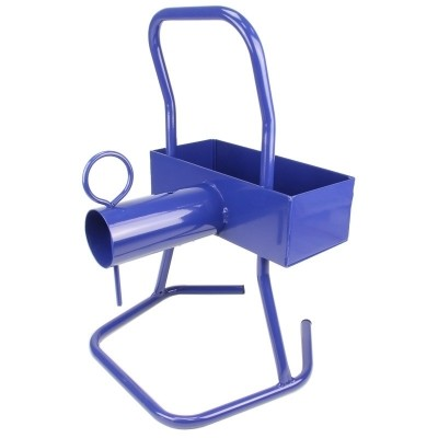 Foto van Haspelwagen niet verrijdbaar, blauw polyesterband