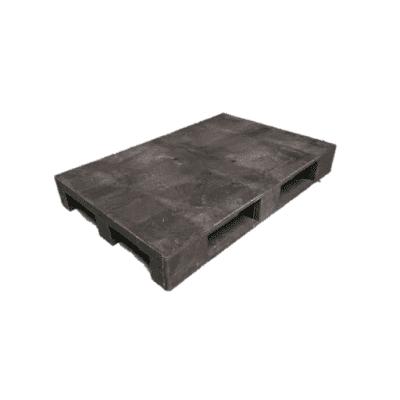 Foto van Kunststof pallet 80 x 120 cm - nieuw gesloten dek
