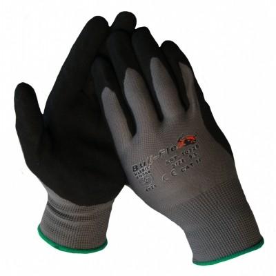Foto van Werkhandschoen nylon met nitrile microfoam coating