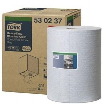 Tork Premium Cloth 530 320 mm x 106 mtr blauw