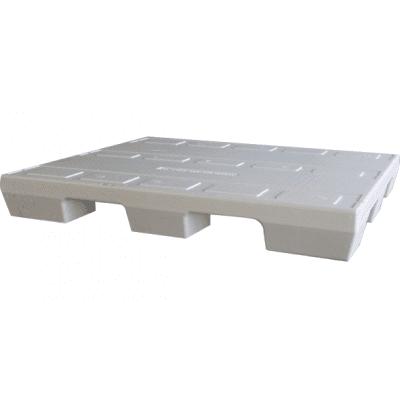 Foto van Gebruikte EPS pallet 80 x 120 cm - 4-weg wit