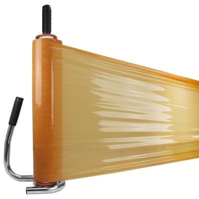 Foto van Handrekwikkelfolie oranje 23 my x 50 cm x 300 mtr