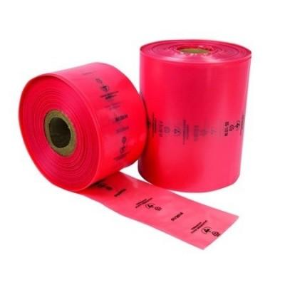 Foto van Buisfolie 100 cm antistatisch - LDPE roze 150 my