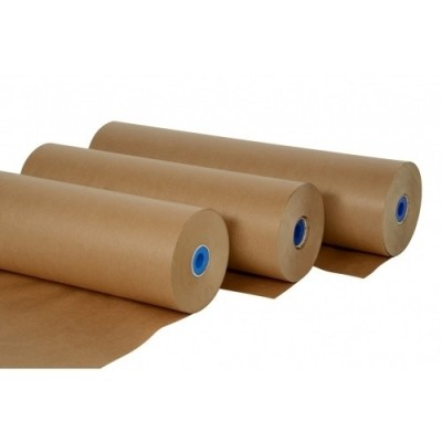 Afbeelding van Natronkraft kraftpapier rollen 100 cm 70 grams