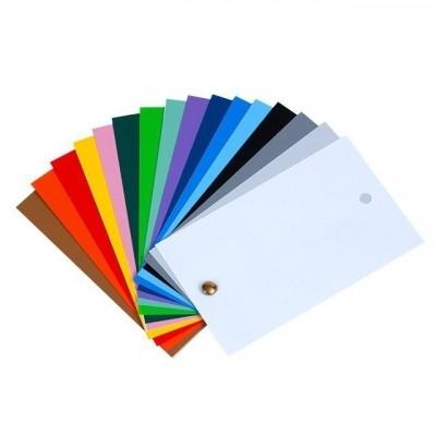 Afbeelding van PVC label 64x118x0,2 mm