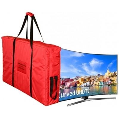 Foto van Transporthoes voor curved TV DELUXE