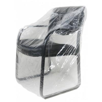 Foto van LDPE meubelhoezen transp. 120 x 110 cm 20 my