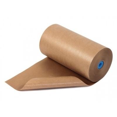 Foto van Natronkraft kraftpapier rollen 120 cm 70 grams 30 kg