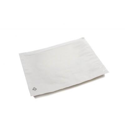 Foto van Paklijstenveloppen 225 x 165 mm Blanco hersluitbaar A5