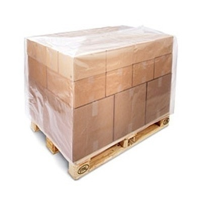 LDPE pallethoes transparant 100 x (2 x 30) x 190 cm
