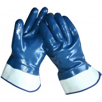 Foto van Werkhandschoen nbr kanvas kap/gesloten rug