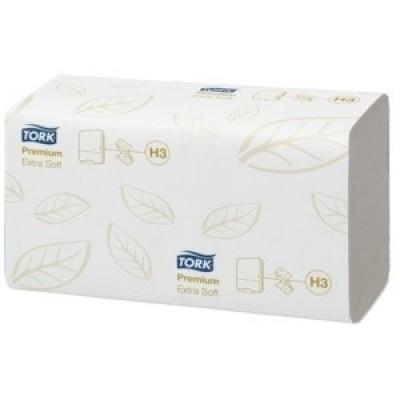 Foto van Tork Premium Hand Towel ZigZag C fold 230 x 230 mm