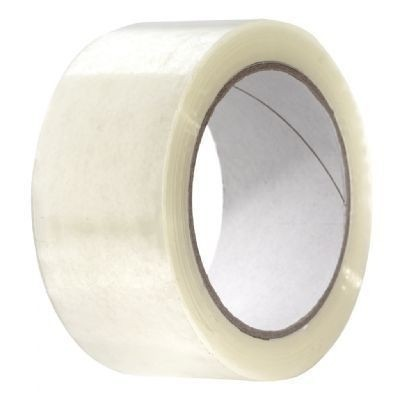 PP Acryl tape transparant 48mm x 66mtr. LN 25 my