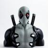 Afbeelding van Marvel Deadpool - X Force Money Box Bust 20cm MERCHANDISE