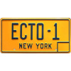 Afbeelding van Ghostbusters: Ecto-1 1984 Licence Plate Replica MERCHANDISE