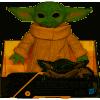 Afbeelding van Star Wars - The Mandalorian: Yoda The Child Figurine 16,5cm MERCHANDISE